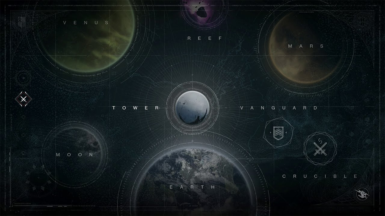 Destiny Full Map Reveal