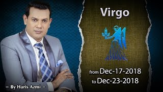 Virgo Weekly Horoscope from Monday 17th to Sunday 23rd December 2018