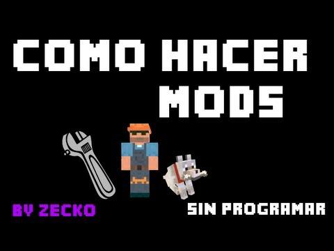 Como hacer mods para minecraft 1.6   Tutorial de MCreator