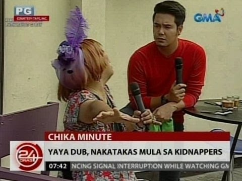 24Oras: Alden Richards, kinidnap