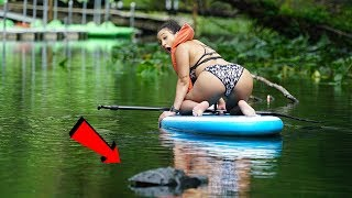 Remote Controlled ALLIGATOR ATTACK Prank!!! COPS WERE CALLED!! (GONE WRONG)