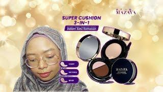 Mazaya Air Cushion - Review & Tutorial Peach Makeup