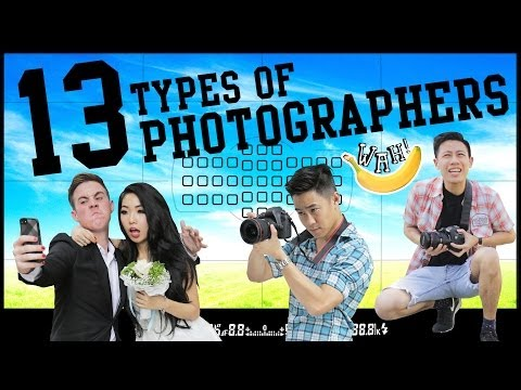 13 Types of Photographers