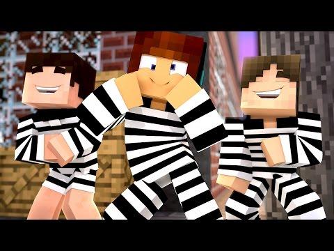 Minecraft : TENTE NÃO RIR !! - ( Polícia e Ladrão)