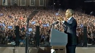 "Emotional Obama on Election Eve: ""I Still Believe in Hope!"""
