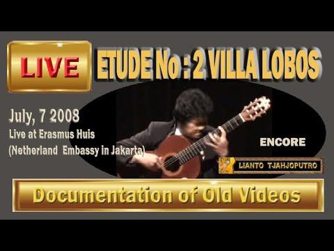 Lianto Tjahjoputro-Etude No.2-Villa Lobos
