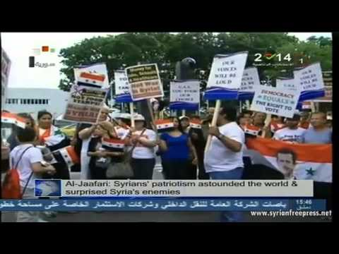 Syria News 2/6/2014, Syrians from France, Belgium and US arrive at borders to vote