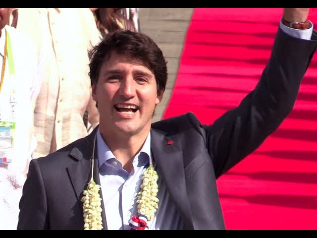 Canadian PM Justin Trudeau arrives in PH for 31st Asean Summit