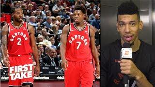 Kawhi Leonard is comfortable with the Raptors and Toronto ? Danny Green   First Take