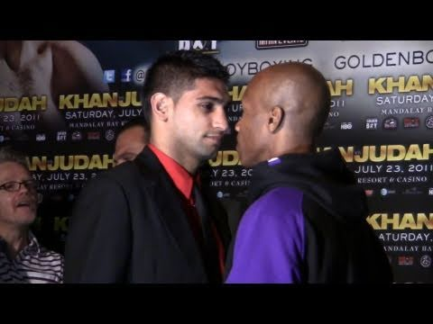 Amir Khan vs. Zab Judah Press Conference