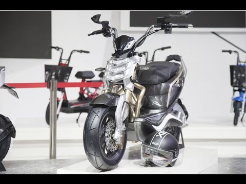 YADEA E-BIKE SHOW Background of the 15th China North International Cycle Show [China Cycle 2015]