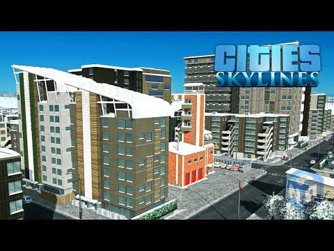 Cities Skylines - Настоящий город, утопающий в пробках! #8