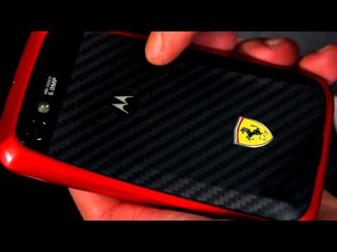 Reseña: Motorola XT621 Ferrari de Nextel