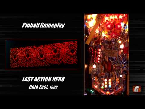 Last Action Hero pinball gameplay