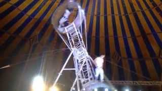 Part II of one of the most dangerous circus Acts ever performed. Witnessed at Rambo Circus Mumbai
