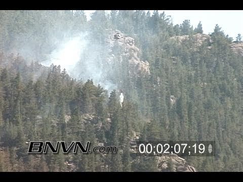 7/18/2005 Colorado Wild Fire Footage