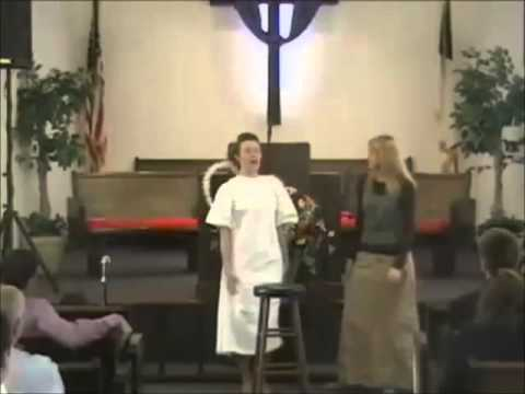 Muncie Christian Academy Dramatic Dialog- The Heavenly Touch video