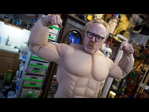Adam Savage's Incredible Muscle Suit