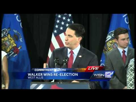 Gov. Scott Walker victory speech
