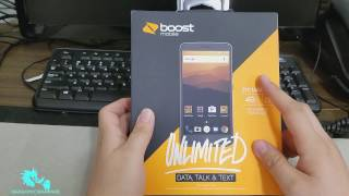Zte Max XL Unboxing Boost Mobile HD