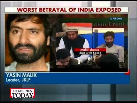 Yasin Malik denies sharing stage with Hafiz Saeed