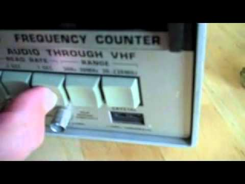 Sencore FC45 Frequency Counter Button Fix