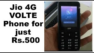 Jio 4G phone for just Rs.500 - Review