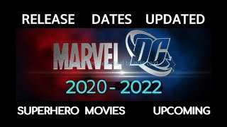 Upcoming SUPERHERO movies DC vs MARVEL MOVIES 2019 - 2022 Release dates. Trailers in description