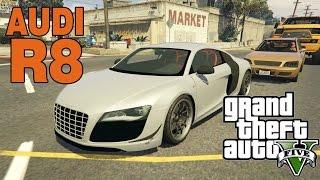GTA 5 Mods : AUDI R8 + Небольшое дополнение