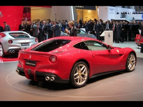 Ferrari F12 Berlinetta - 2012 Geneva Auto Show