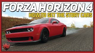 Forza Horizon 4 - How to get the Dodge Demon, Monte Carlo, Boss 302, and Zenvo ST1