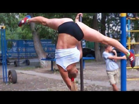 Beautiful strong girl - Female street workout motivation.