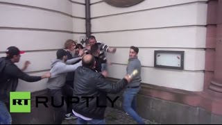 Germany: Blood on Frankfurt's streets as Turkish and Kurdish protesters clash