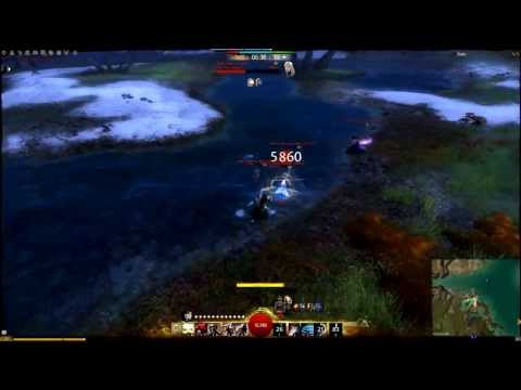 Guild Wars 2 Thief WvW PvP (Yishis) Outnumbered 6 - Dagger/Dagger