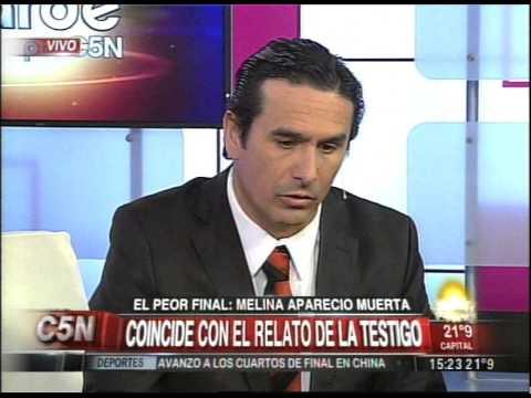 C5N - CASO MELINA ROMERO: EL SABADO, LA AUTOPSIA