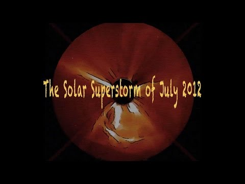 The Solar Superstorm of July 2012