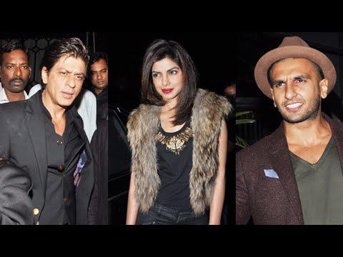 Shahrukh Khan, Priyanka Chopra Ranveer At Sanjay Leela Bhansali Padma Shri Party