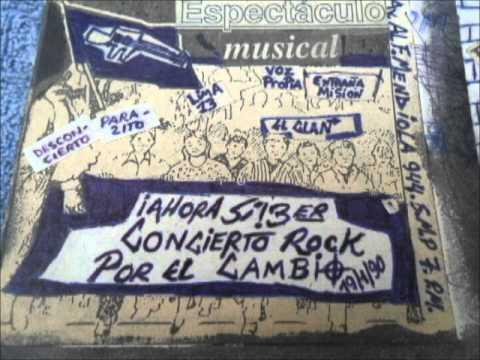 POST PUNK PERU - EL CLAN SMP- ANTIARRIBISTAS 1987 thumbnail