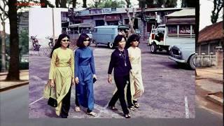 Màu sắc áo dài xưa 1954-1975