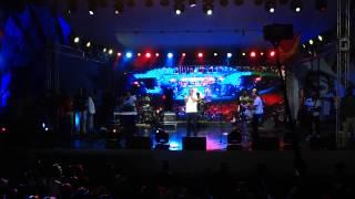 Haitian President performing at Carifesta 2015