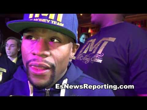 Floyd Mayweather I Am Focused On Manny Pacquiao Asked About Amir Khan - EsNews
