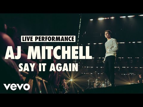 AJ Mitchell - Say It Again (Live) | Vevo LIFT Live Sessions