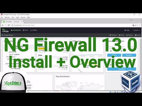 Untangle NG Firewall 13.0 Installation + Overview + Guest Additions on Oracle VirtualBox [2017]