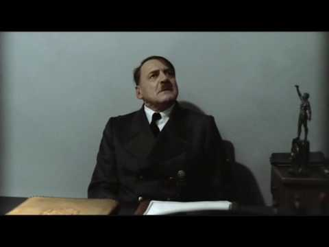 Hitler is informed hitlerrantsparodies has reached 1 million video views