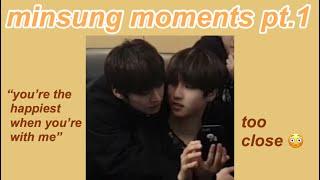 Minsung moments (minhoxjisung)