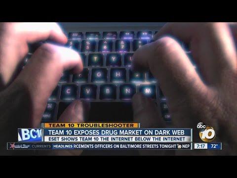 Team 10 exposes drug market on 'dark web'