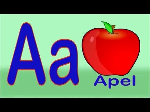 Lagu Belajar ABCD-Abjad Bahasa Indonesia