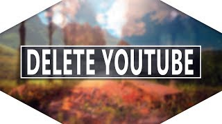 How To Delete YouTube Account on Iphone! [2017] Deleting YouTube Channel!