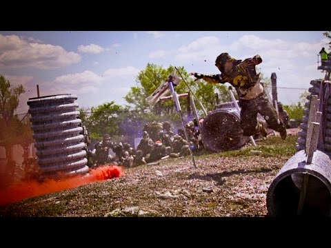 Thousands of Paintballers Attack - Living Legends 7 x HK Army