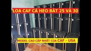 Loa CAF cá heo bát 25  W10 và bát 30 W12 hàng bãi xịn USA